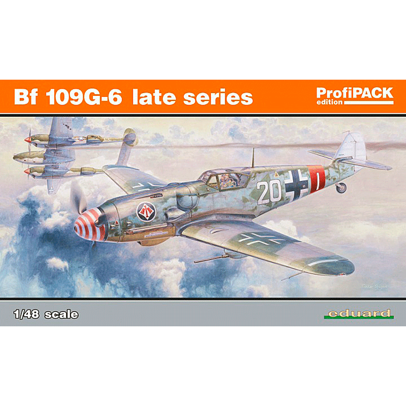 ED82111 Bf-109G-6 Late Series