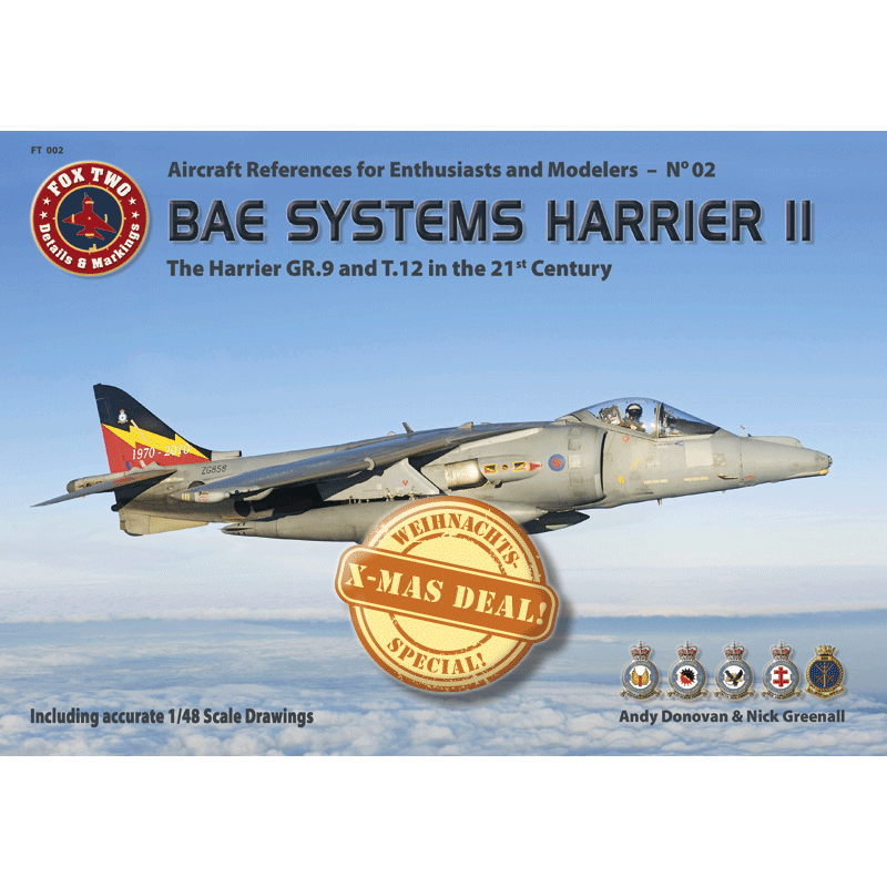 FT002 – Harrier GR.9 & T.12