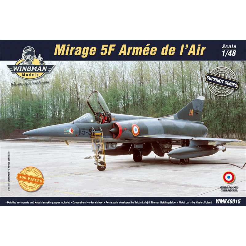 WMK48015 Mirage 5F Armée de l'Air